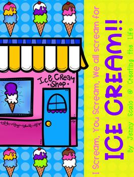 Ice Cream Theme Activities