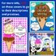 Ice Cream Theme ELA Bundle