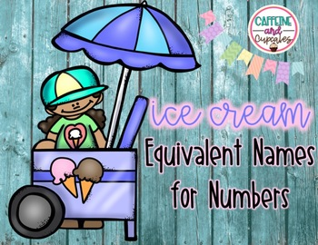 Ice Cream Themed Equivalent Names for Numbers