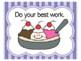 Ice Cream Theme Bulletin Board    Ice Cream Theme Class Rules