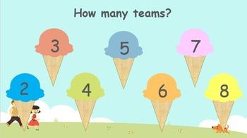 Ice Cream Theme Score Board