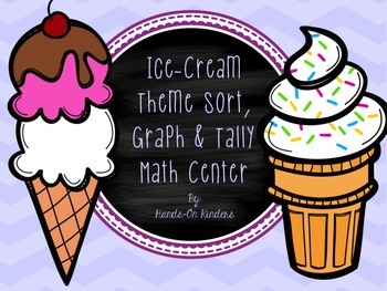 Ice Cream Theme Sort, Tally and Graph