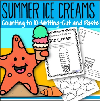 ICE CREAMS Counting and Tracing 0-10