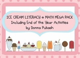 Ice Cream Themed Literacy & Math MEGA Pack-plus end of yea