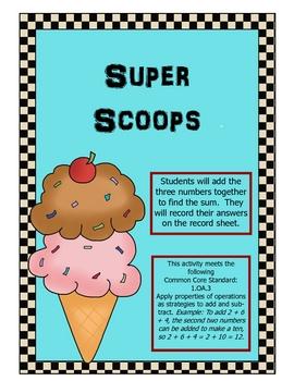 Ice Cream Three Addends