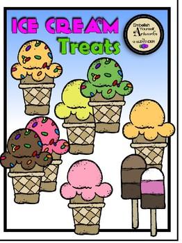 Ice Cream Treats Clipart