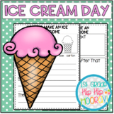 Ice Cream Day...Perfect for End of the Year Fun and Class Behavior Reward!