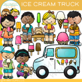 Ice Cream Truck Clip Art { Whimsy Clips Ice Cream Clip Art}