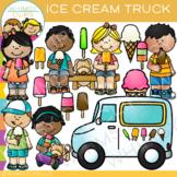 Ice Cream Truck Clip Art { Whimsy Clips Ice Cream Clip Art}