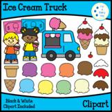 Ice Cream Truck-Build An Ice Cream Cone Clipart