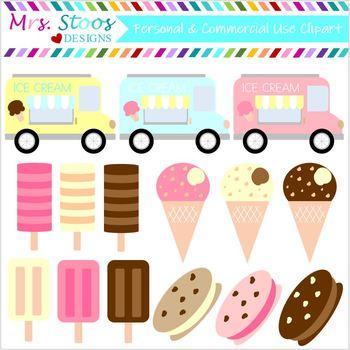 Ice Cream Truck Clip Art 15 Images