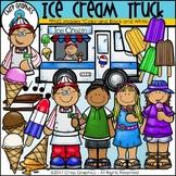 Ice Cream Truck Clip Art - Chirp Graphics