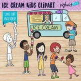 Ice Cream Truck Clipart   Summer Kids Clip Art, Popsicle, Ice Cream Cone
