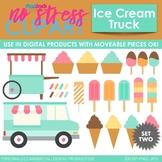 Ice Cream Truck Treats (Paste) Clip Art (Digital Use Ok!)