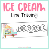 Ice Cream Tuck Line Tracing | Handwriting Practice | Pre-Writing