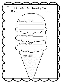 Ice Cream Unit (A Common Core Aligned Cross- Curricular Unit)