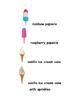Ice Cream Vocabulary - Writing Workshop Resource