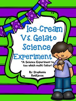 Ice-Cream Vs. Gelato (Science Experiment)