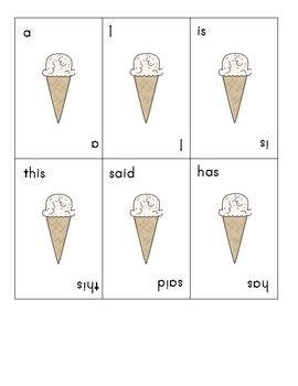 Ice Cream Word Games