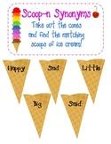 Ice Cream Word Work