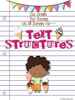 Ice Cream for Text Structures