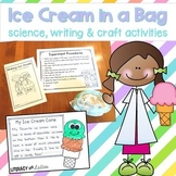 Ice Cream in a Bag Science Lab and How To Writing {cooking