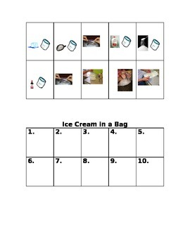 Ice Cream in a Bag -- States of Matter Science Experiment