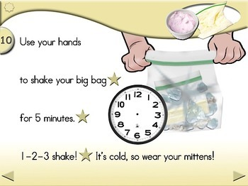 Ice Cream in a Bag (single serving) - Animated Step-by-Step Recipe - Regular