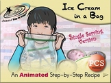 Ice Cream in a Bag (single serving) - Animated Step-by-Step Recipe PCS