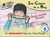 Ice Cream in a Bag (single serving) - Animated Step-by-Step Recipe SymbolStix