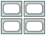Ice Creams Classroom Labels, Name Tags, Labels, Summer Classroom Décor