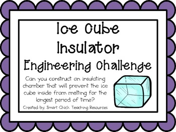 Ice Cube Insulation: Engineering Challenge Project ~ Great STEM Activity!