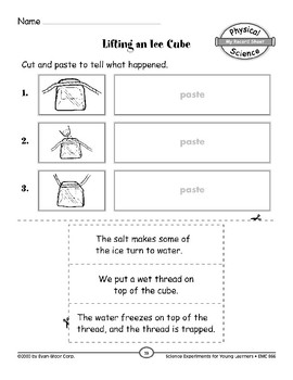 Ice Cube on a String (Properties of Objects & Materials)