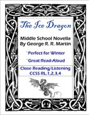 Middle School Novel and Read-Aloud Ice Dragon by George R R Martin