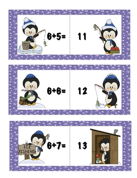 Ice Fishin Addition (facts 3-9)
