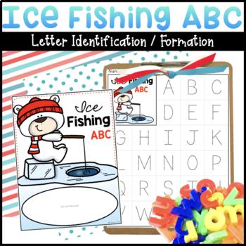 Ice Fishing ABC   Letter Identification Activity