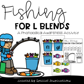 Ice Fishing For L Blends (Phonemic Awareness Activity)
