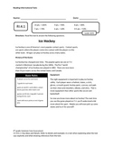 4th Grade Common Core Informational Text Assessment Freebie