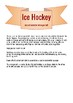 Winter Olympics Ice Hockey Song with classroom percussion Orff arrangement
