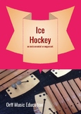 Winter Olympics Ice Hockey Song with classroom percussion