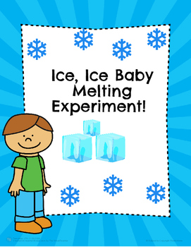 Ice Ice Baby Melting Science Experiment