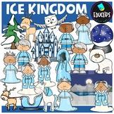 Ice Kingdom Clip Art Bundle {Educlips Clipart}