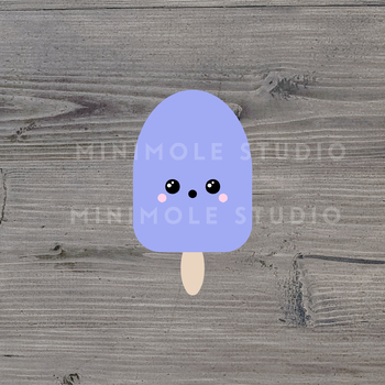 Ice Lolly Popsicle SVG PNG Clip Art Graphic