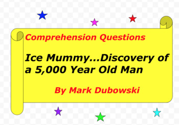 Ice Mummy...Discovery of a 5,000 Year-Old Man