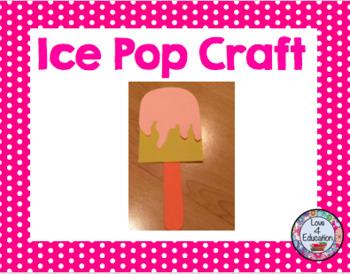 Ice Pop Craft