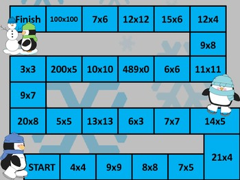 Ice Skate Multiplication