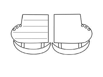 Ice Skate Paper