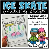 Ice Skate Writing Craft