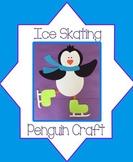 Ice Skating Penguin Craft