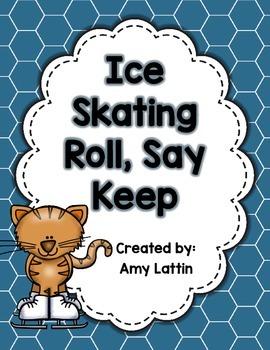 Ice Skating Roll, Say, Keep - Alphabet